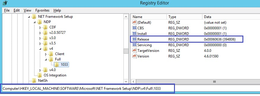 NET Framework 4 6 2 Installation Will Not Trigger During Sage 300