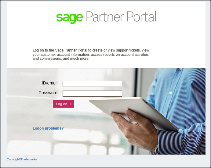 How do I create and view a Support Ticket via the Sage